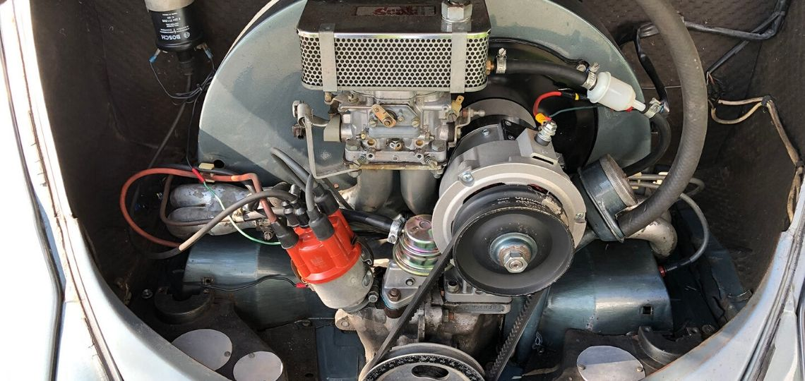 1600 Twin Port Engine in 1955 Beetle