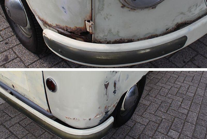 1958 Front & Rear Bumper