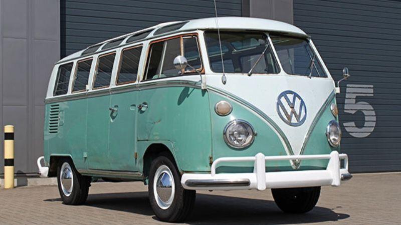 1964 21 window vw samba
