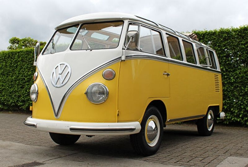 1967 21 window vw samba