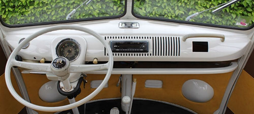The VW Splitscreen Bus Dashboard