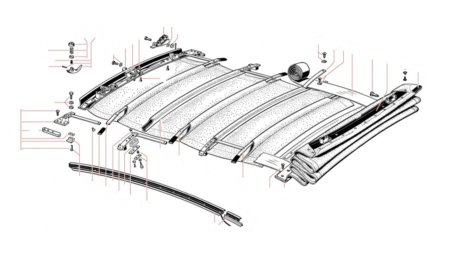 Sunroof Parts