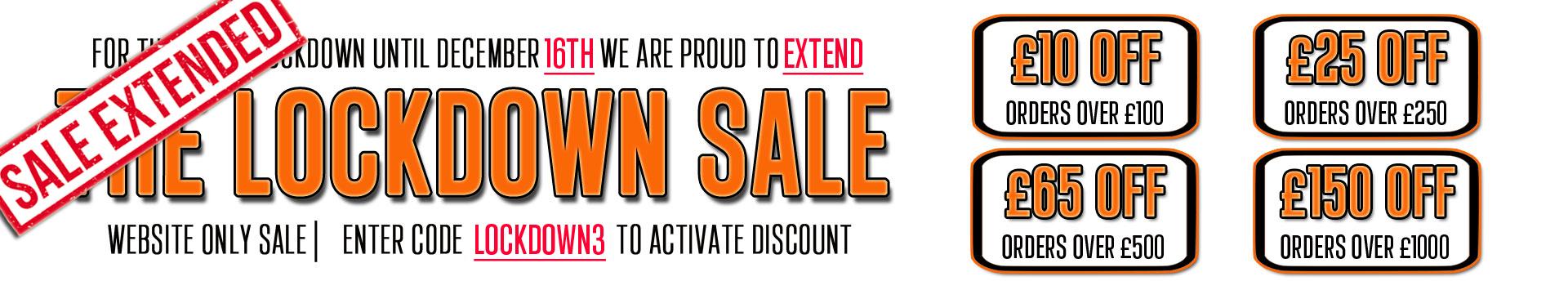 Lockdown Sale Extended