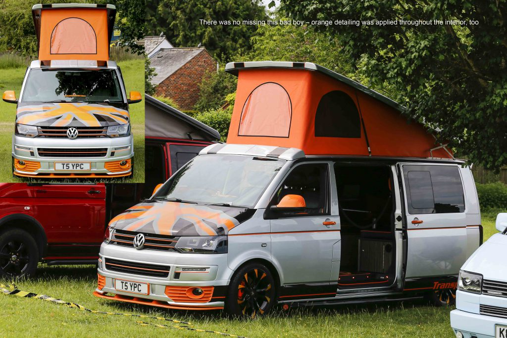 Customer VW Bus with poptop