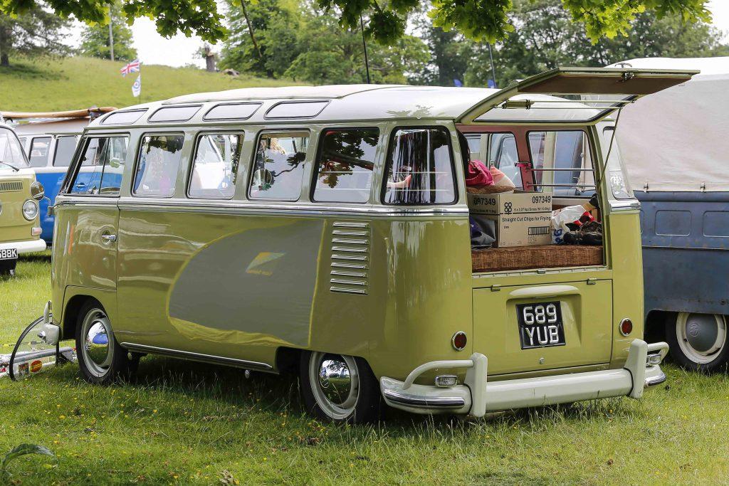 1960 VW 23 Window Samba at Stonor Park VW Show 2019