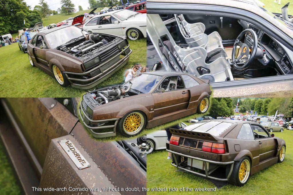 Modified VW Corrado at Stonor Park VW Show 2019