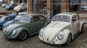 Cal Look VW Beetles with ragtops