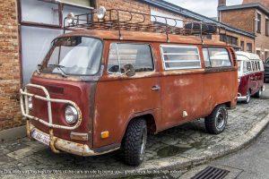 Off Road VW Campervan with off road tyres