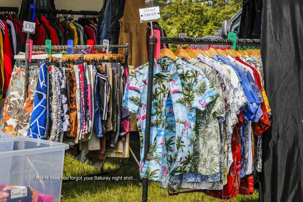 Bermuda Shorts and Shirts