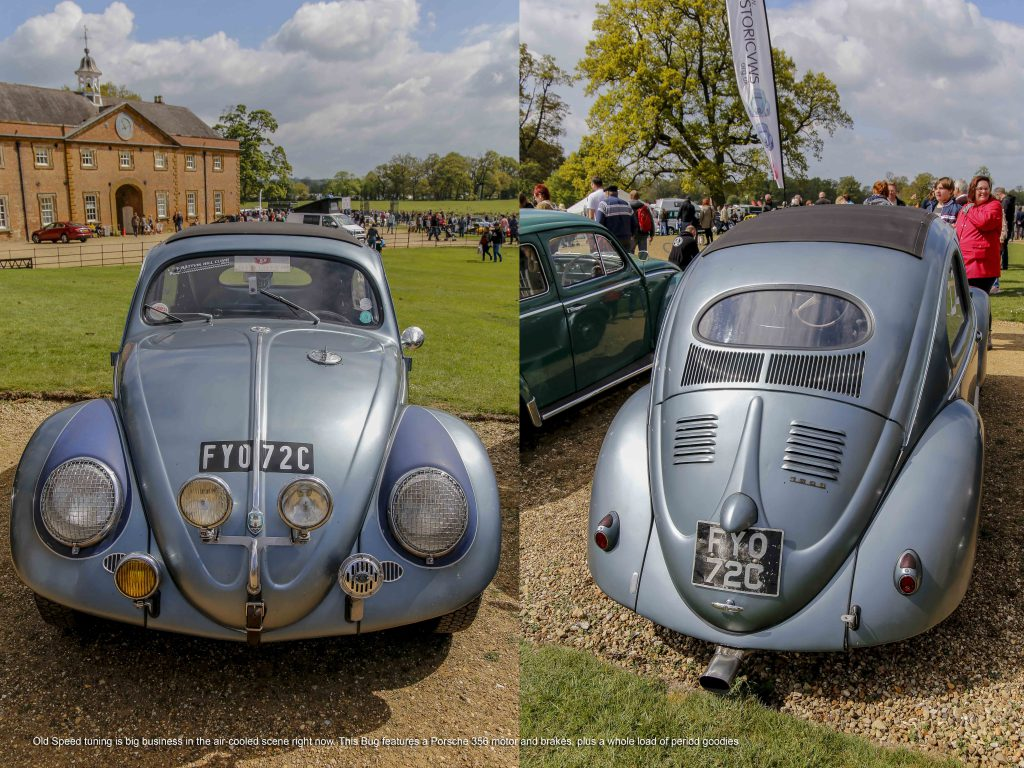 VW Onal Window Beetle with Ragtop at Stanford Hall 2019