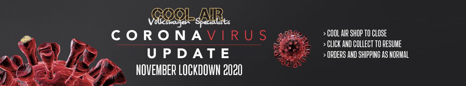 Corona Virus Lockdown Update 03.11.20