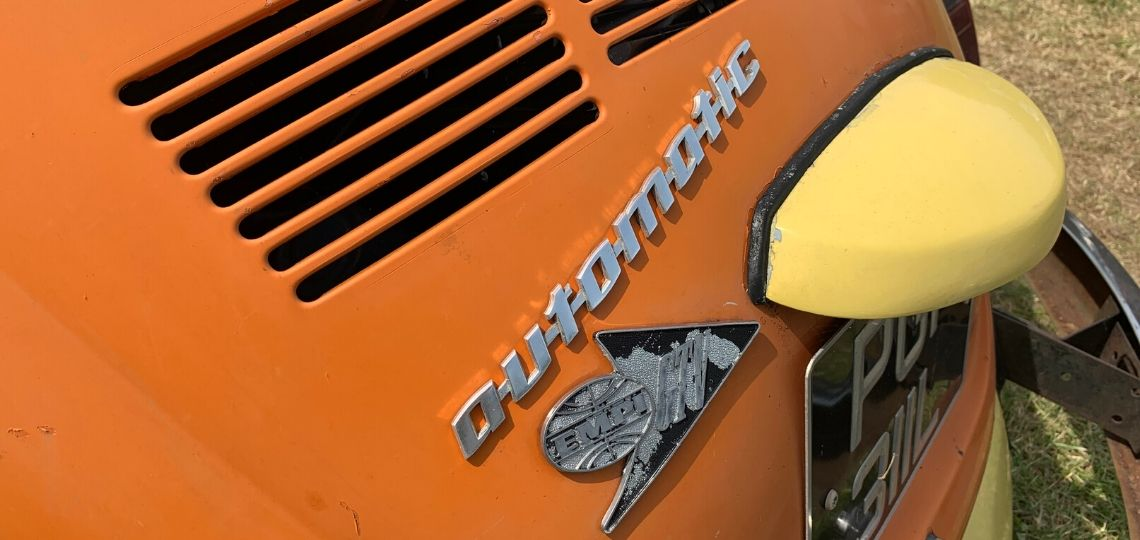 VW Beetle Automatic Badge