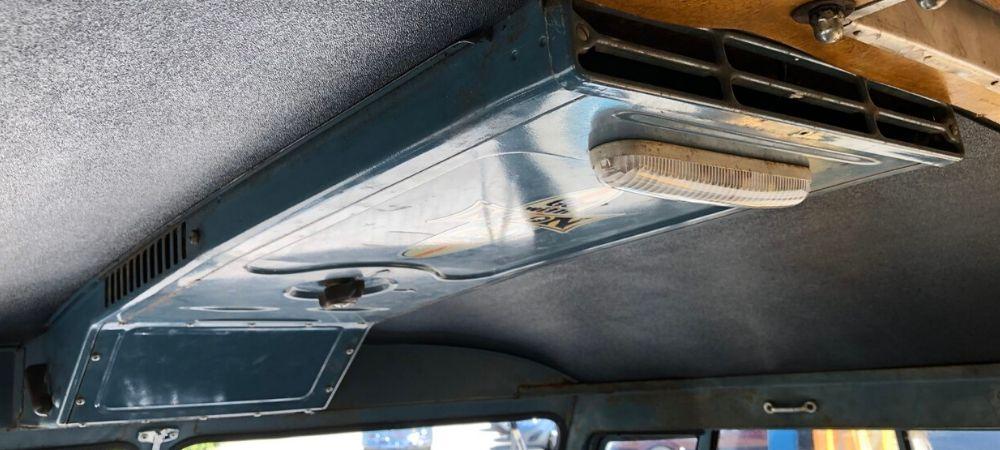 Splitscreen Bus Heating and Ventilation