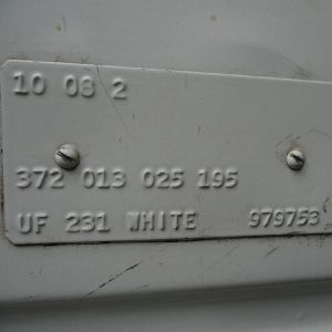 VW Splitscreen Chassis Codes