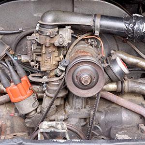 VW Trekker Engine Codes